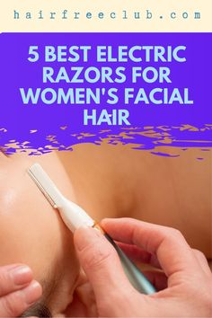 Why women have facial hair is beyond me, since we take the time to remove it anyway! Hair Free Club has reviewed the 5 best electric razors suited to remove women's facial hair. We know that her facial hair cannot be removed in the same way as men's. That means there are devices out there custom-tailored for women to get the desired results leaving smooth skin at the end. You want to read this to make the right choice… #womenselectricrazors #womensfacialhair #razorwomensfacialhair Best Electric Razor, Electric Razors, Beauty Hacks Skincare, Beauty Products, Facial Hair Trimmer, Shaving & Grooming, Leg Hair, Natural Beauty Recipes, Hair Removal For Men