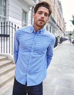 Slim Fit Oxford Shirt MA447 Slim Fit at Boden