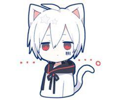 kobayashi-san chi no maid dragon elma chibi stiquer Anime Neko, Cute Anime Chibi, Anime Art, Anime Boys, Anime Cat Boy, Anime Cosplay, Neko Girl, Neko Kawaii, Dibujos Anime Chibi