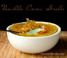 Sarah's Classic French Creme Brûlée. Vegan Glutenfree Recipe