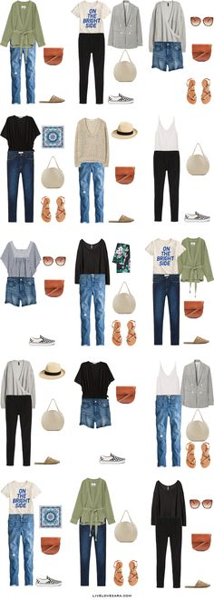 What to Pack for New Orleans Packing Light List Outfit Options   What to pack for New Orleans   What to Pack for summer   Packing Light   Packing List   Travel Light   Travel Wardrobe   Travel Capsule   Capsule  