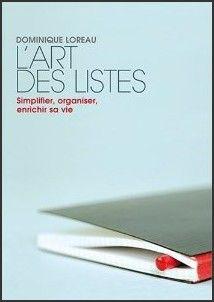Dominique Loreau l'art des listes