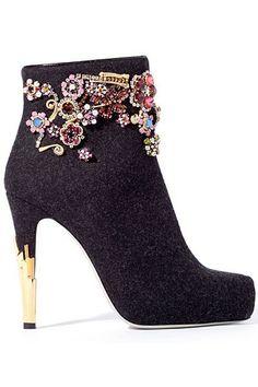 Jason Wu - new #jewelry #trends jewelry trend     #shoes ( booties )