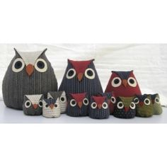 Lucky Owls - I have the pattern.....just need to make them...