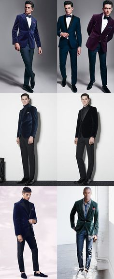 Men's Velvet Jackets Outfit Inspiration Lookbook