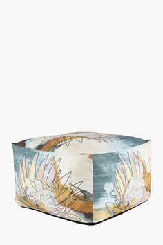 This stylish pouffe creates a tasteful addition to your home decor. You will not only love the look but also enjoy the comfy experience while watching TV o Sleeper Couch, Large Ottoman, 2nd City, Upholstered Furniture, Dark Colors, Living Room Furniture, Good Books, Decorative Bowls, Comfy