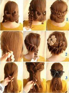 3 coiffures