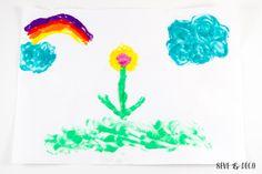 peinture gonflante #diy #kids #enfants http://www.sevedeco.com/chez-les-tout-ptits/diy-peinture-gonflante/