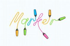 Crear un texto de resaltado Efecto de vectores en Adobe Illustrator