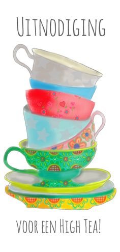 Uitnodiging Long Tea, verkrijgbaar bij #kaartje2go voor €2,99