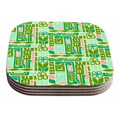 East Urban Home Maze by Amy Reber Coaster