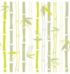 Green bamboo seamless pattern vector - by yulia_lavrova on VectorStock®