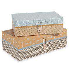 2 Boxen L24 und L30 cm PORTOBELLO