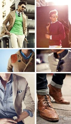 I love this style on men, some women can pull this off too!