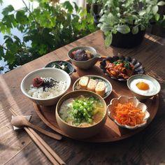 Asian Recipes, Healthy Recipes, Exotic Food, Aesthetic Food, Korean Food, Food Menu, Food Design, Japanese Food, Food Hacks