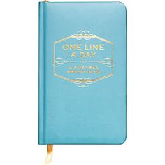 Easy daily journal from paper source.  They also have cute mother/daughter and kids quote journals