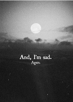 Im just sad.