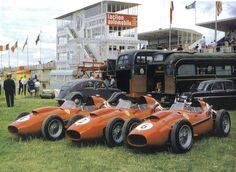 Ferrari team at Reims