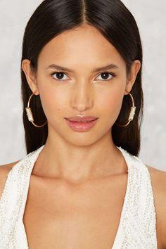 Estee J-Hoop Earrings | Shop Accessories at Nasty Gal!