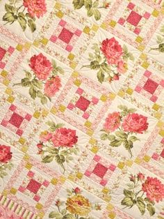 rose quilts - Google Search