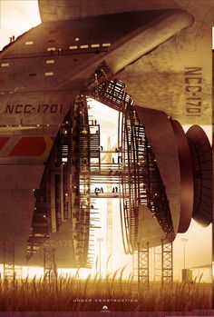 Star Trek: USS Enterprise construction #startrek #ussenterprise