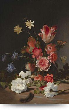 Glasschilderij Bloemen in vaas 7 - Wanddecoratie - Loods 5 Canvas Art Prints, Fine Art Prints, Dutch Golden Age, Canvas Paper, Old Master, Cool Artwork, Art Reproductions, Still Life, Original Artwork