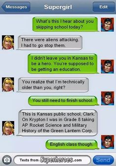 11119964_646888268789577_5780740851960274697_n.jpg (JPEG Image, 505 × 720 pixels) - Scaled (84%) Superhero Texts, Superhero Villains, Comic Text, Marvel Vs, Marvel Dc Comics, Avengers Memes, Detective Comics, Dc Heroes, Texting