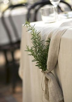 Brides.com: . Lose the Linens. Instead of renting expensive linens, top your venue's standard cotton or polyester tablecloths with a decorative runner and save about $25 per table. — Emarie C. Vangalio, La Tavola Fine Linen Rental, Napa, CA