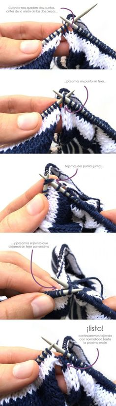 DIY Sailor Cardigan – Tutorial and Pattern Knit Vest, Miu Miu Ballet Flats, Sailor, Looks Great, Casual Outfits, Pullover, Knitting, Cotton, Patterns