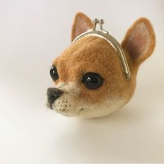 Сказки войлока Needle Felted Animals, Felt Animals, Handmade Design, Handmade Crafts, Wet Felting, Needle Felting, Pipe Cleaner Art, Desenhos Love, Felt Dogs