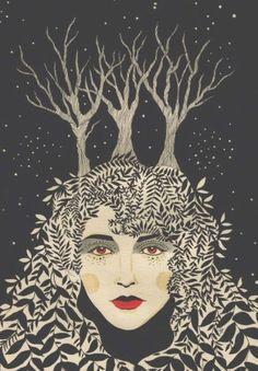 'Kate Bush' by Daria Hlazatova
