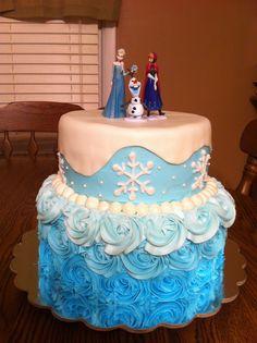 Disney Frozen Cake CakesByMeridyth