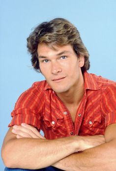 Patrick Swayze, male actor, dancer, artist, r.i.p., portrait, photo