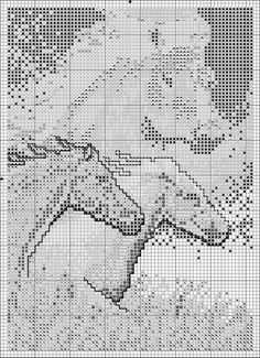 Sticken Pferde - cross stitch horses - free pattern Gallery.ru / Фото #3 - ANIMALS - KIM-2