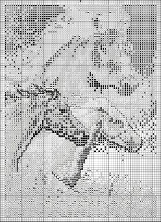 Sticken Pferde - cross stitch horses - free pattern Gallery.ru / Фото #3 - ANIMALS - KIM-2