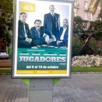 Publicidad mupis Valencia - JUGADORES TEATRE TALIA