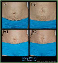 DIY Body Wrap Vitamin E oil Saran Wrap Tape Sea Salt Bathtub or shower Moisturizer Fitness Workouts, Ab Workouts, Beauty Secrets, Beauty Hacks, Diy Beauty, Beauty Tips, Dermaroller, Gewichtsverlust Motivation, Lose Weight
