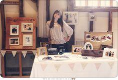 Hello Romance Wedding Photography stand at Haughley Park Barn Wedding Venue Suffolk