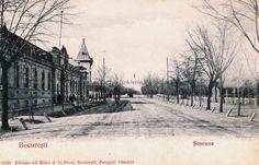 Şoseaua Kiseleff din Bucureşti, s. Bucharest Romania, Back In Time, Old Town, Dan, Tourism, Memories, Country, Places, Outdoor