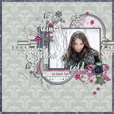 Page by Atusia using all that Glitters - GS Monthly Mix for December 2015