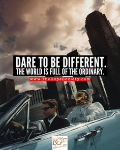 Dare To Be Different. -THE DOPE SOCIETY®️ • Follow The Dopest Words To Live By - Words Of Wisdom - Motivational Quotes - Inspirational Quotes - Real Talk - Quote Of The Day - Dope Quotes - Word Porn - Relationship Quotes - Hip Hop Quotes, etc... #Goals #Dope #Quotes #WordsToLiveBy #MotivationalQuotes #InspirationalQuotes #DopeBeats #DopeBracelet #Memes • www.TheDopeSociety.com (Hip-Hop Beats) Instagram.com/The.Dope.Society Talking Quotes, Real Talk Quotes, Instrumental Beats, Dope Quotes, Free Beats, Hip Hop Quotes, Word Porn, Mixtape, Quotes Inspirational