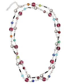 Trades of Hope -mytradesofhope.com/sarahzigouras This Jeweled Necklace is handcrafted by artisans in India, it comes in a multitude of beautiful colors. This beautiful necklace is highlighted by glass beads and comes in an endless design. You can wear it as a long-strand that can be wrapped or layered.    School is not free in India and many cannot afford to send their children to school. Girls are seen as a burden as they don't work outside of home,so they are especially overlooked by many…