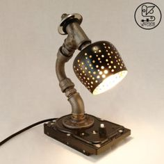 This small curved lamp is all you need for your living decoration and the moments of relaxations that need 'enlightenment'. 'Hard Light' to ignore, isn't it? Fire Works, Iron Pipe, Table Lamp, Bulb, In This Moment, Led, Studio, Decoration, Collection