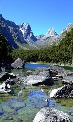 Emily Pass from Lake Mackenzie - NZ