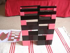 Smiling like Sunshine: Brown Stair and Pink Tower Extensions - sensorial materials Montessori Activities, Sunshine, Tower, Stairs, Gift Wrapping, Creative, Pink, Classroom Ideas, Teaching Ideas