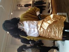 """""""H & M is going all out for Fall with metallic fabrics and big jewels!"""" - PSW mag fashion ed Rachel Aschenbrand"""