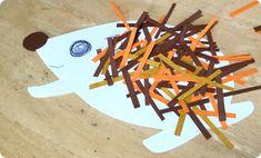画用紙を使い簡単に出来るハリネズミの製作アイデアを紹介します。 1歳児、2歳児クラスからの子ども達の製作活動に…
