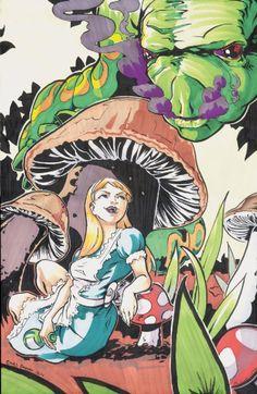 Alice in Wonderland - Chris Beaver