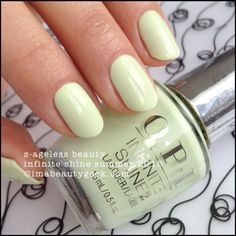 OPI 'S-ageless Beauty' – OPI Infinite Shine Summer 2015 // Similar to 'Chillato' ,from Essie, but with better formula