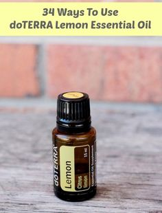 34 Ways To Use doTERRA Lemon Essential Oil